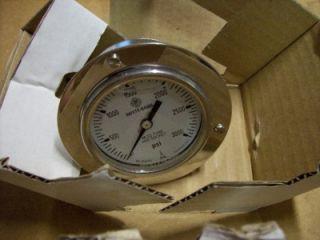 Controls 0 3000 psi Pressure Gauge 1/4 NPT SS Liquid Filled KNPS New
