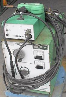 Linde Hand Spool Aluminum MIG Welding Rig 250A 100 Duty