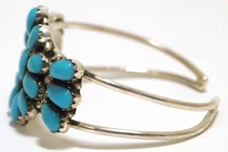 Turquoise Sterling Silver Baby Cuff Bracelet Lisa Williams