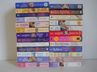 Nice Lot of 25 Lisa Kleypas Romance Paperback Books ~ Historical