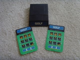 Intellivision System Manual Storage Case RF Adapter 27 Games Awesome