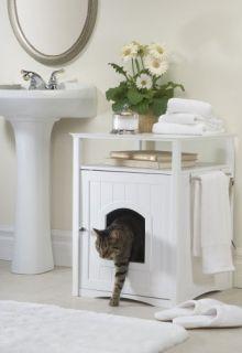 New Merry Pet Cat Washroom Night Stand Pet House