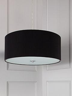 Zaragoza large black ceiling pendant
