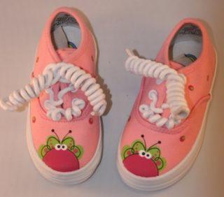 Little Girls Flutter Bug Tennis Shoes