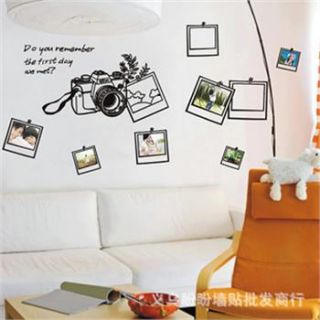 Wall   Living Room on On Decal Living Room Bedroom Diy Decor Art Wallpaper Wall Stickers