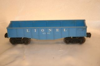 Vintage Lionel O Scale One Steam Engine 027 and 4 Cars