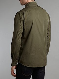 Paul Smith Jeans Four pocket shirt style jacket Khaki