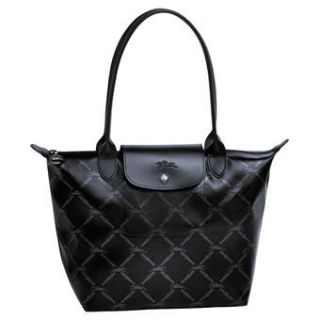 Longchamp LM Bag Large Long Handle Metal Black New Season 11