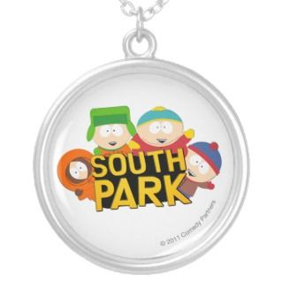 South Park Boys   Round Pendants