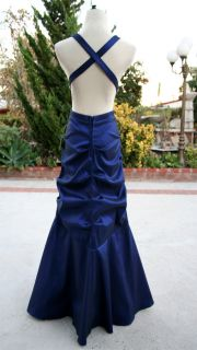 Masquerade $150 Saphire Formal Prom Party Gown 5
