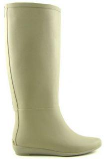 Loeffler Randall Rain Boot Taupe Womens Designer Rain Boots 9