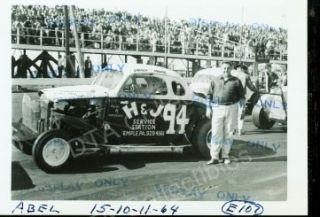 Bobby Abel 94 Modified Auto Racing Photo