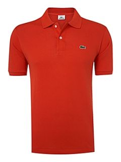 Lacoste Classic fitted polo shirt Orange