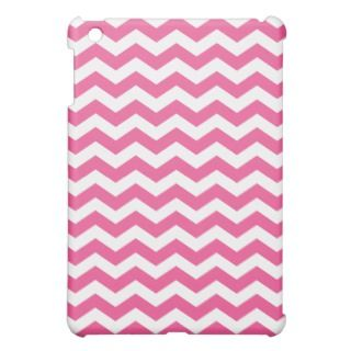 Pink Chevron Stripes iPad Mini Case