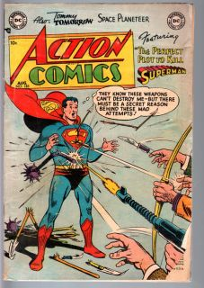 Action Comics 183 1953 Superman Lois Lane Golden Age Comic G VG G VG