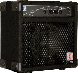 Eden E8I Micro 25W 1x8 Bass Combo Amp Black