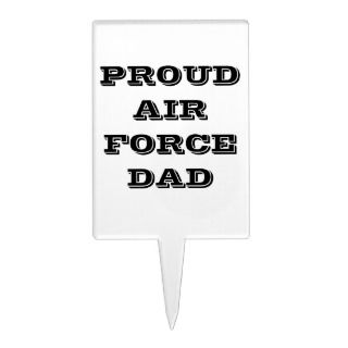 Cake Topper Proud Air Force Dad