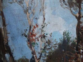 Reginald Mills British Plein Air Impressionist Oil A Horse Team