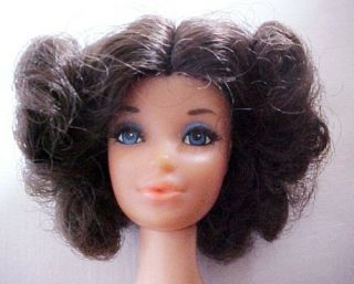 Vintage Barbie Walk Lively Brunette Miss America