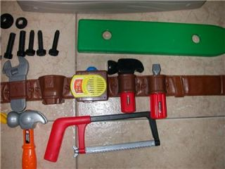 Little Tikes Home Improvements 2 Sided Workshop w  Tool Belt
