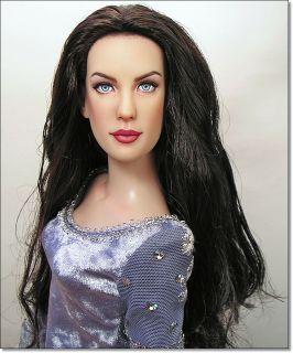 Liv Tyler Arwen Evenstar OOAK Tonner Doll Repaint by Artist Pamela