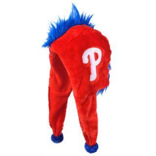 Philadelphia Phillies MLB Baseball Short Dangle Mohawk Winter Hat
