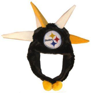Pittsburgh Steelers NFL Football Short Dangle Spike Winter Hat