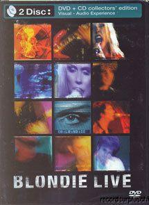 Blondie LIVE DVD & CD Set New York Punk Debby Harry Call Me Heart Of