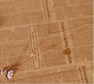 Women Girl Gold Plated Simple Long Necklace Chain 80cm