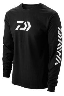 Daiwa Vector Long Sleeve T Shirt Black Large