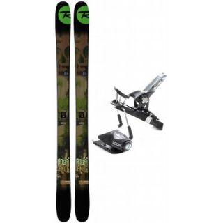 Rossignol S3 168 Skis Look PX Racing 15 Wide Ski Bindings
