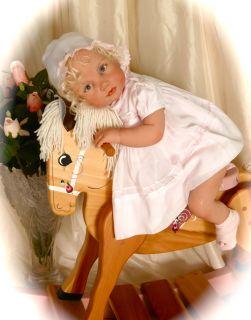 LORI IVANOVIC *SWEET BABY BRIDGETTE*SOLID SILICONE*reborn DOLL * LORI