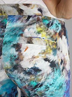 Almari Almari print pleat front trouser Multi Coloured