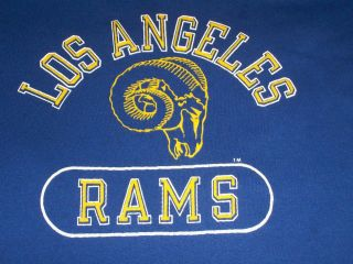 Vintage Los Angeles Rams 80s Champion T Shirt M Soft