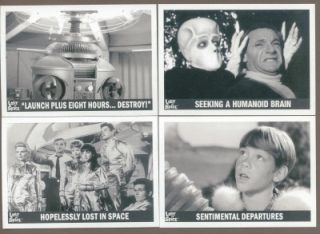insert card set from THE COMPLETE LOST IN SPACE Premium Trading Card