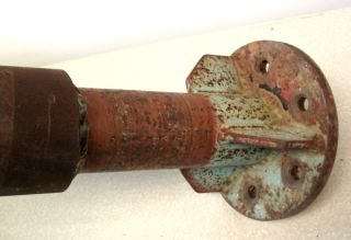 Vintage Screw Type Log Splitter Car Truck or Tractor Mount Must See