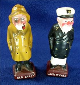 Vintage Salt Pepper Set from The Movie Jaws