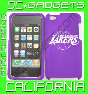 Los Angeles Lakers NBA Purple Cover Case iPod Touch 4