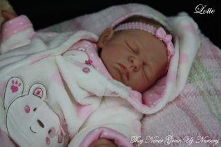 Tngun Artist Reborn Baby Doll Lotte Prototype 1 Sculpted by Sebilla