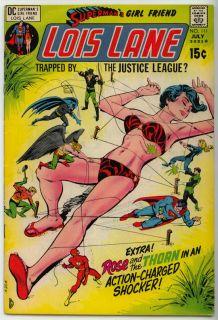 Supermans Girlfriend Lois Lane Comic Book 111 1971