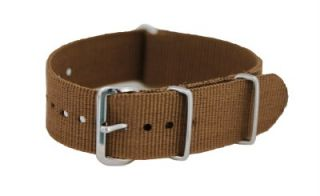 20mm Solid NATO Watch Band Strap Fits Timex Weekender