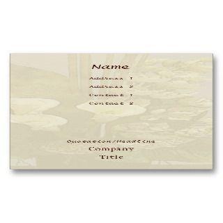 Florist Floral Arrangement Business Card Templates