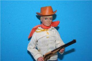 Vintage Lone Ranger Marx Gabriel Danny Reid Figure Doll Complete