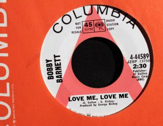 Billy Barnett Love Me Love Me The End of The Lyin Columbia 4 44589 WL