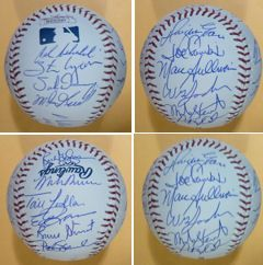 1986 Autographed Signed Boston Red Sox Team Baseball w 23 Signatures