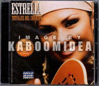 Estrella Tatuajes Del Corazon CD 2011 EX La Academia