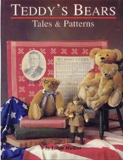 Teddys Bears 4 Full Size Antique Teddy Bear Patterns