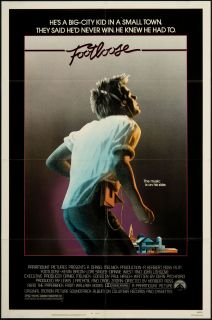 Footloose 1984 Original U s One Sheet Movie Poster