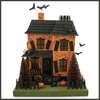 Bethany Lowe Halloween Haunted House Vintage Style Retro 10 5 Decor