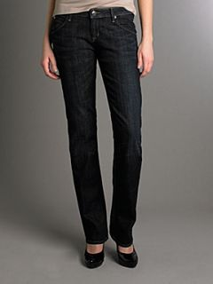 Hudson Jeans Carly straight leg jeans in Loving Cup Denim Mid Wash